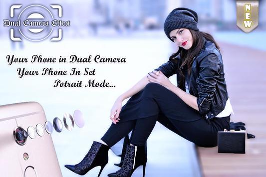 Potrait Mode Camera - DSLR Camera - Dual Camera poster