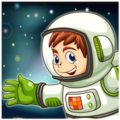 Astronaut Space Hover icon