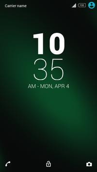 For Xperia Theme-Green apk screenshot