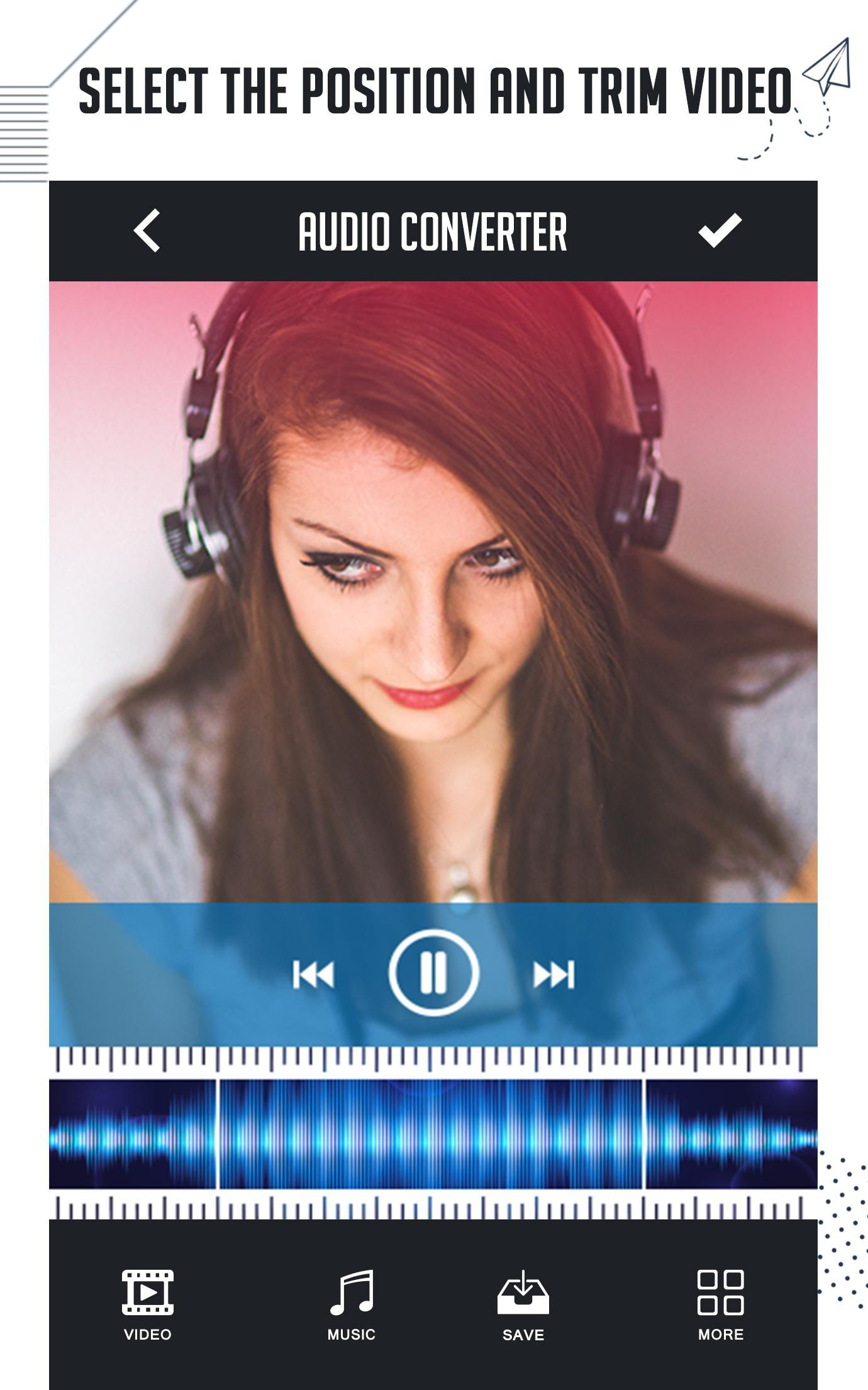 Video To Audio Converter, UltraFast Mp3 Converter for Android - APK