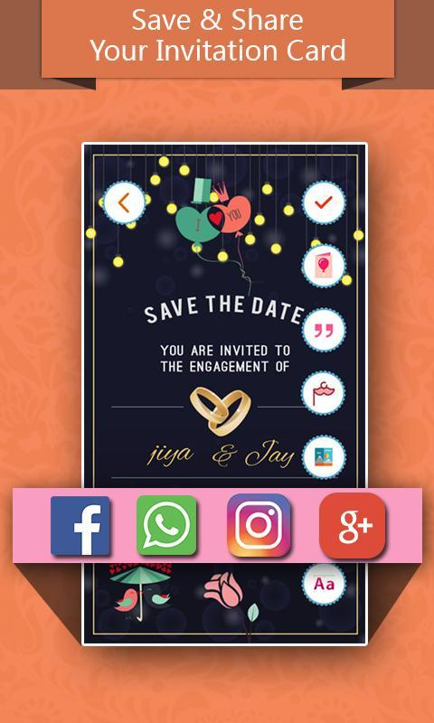 invitation maker pro new year special 2018 screenshot 5