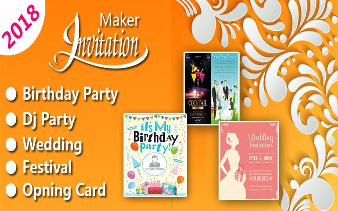 invitation maker pro new year special 2018 screenshot 1