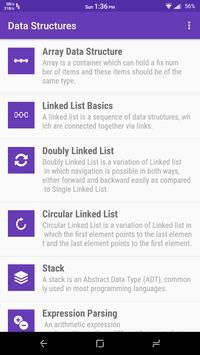 Data Structures screenshot 1