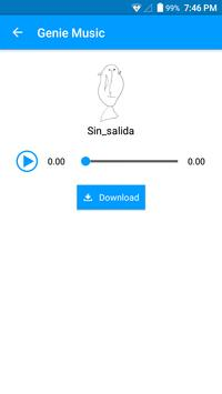 Genie Music apk screenshot