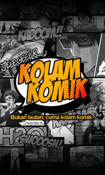 Kolam Komik poster
