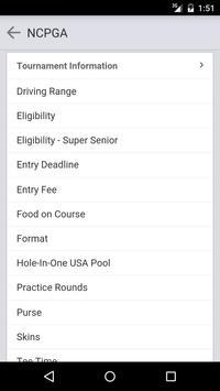 Northern California PGA screenshot 1