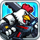 Chicken Warrior:Zombie Hunter icon