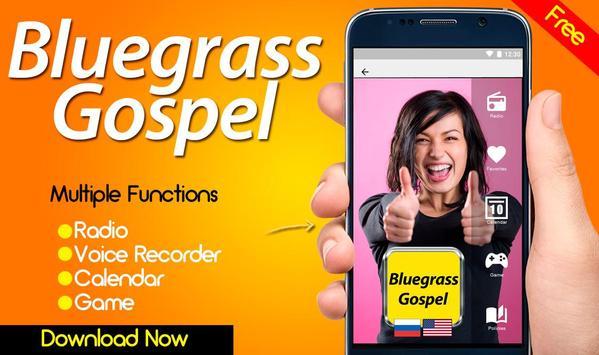 Bluegrass Gospel Radio Bluegrass Music poster