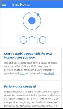 Learn Ionic poster