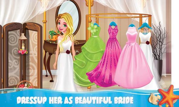 Mermaid Lady Wedding Makeover Game screenshot 4