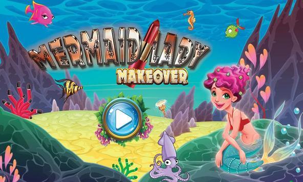 Mermaid Lady Wedding Makeover Game screenshot 6