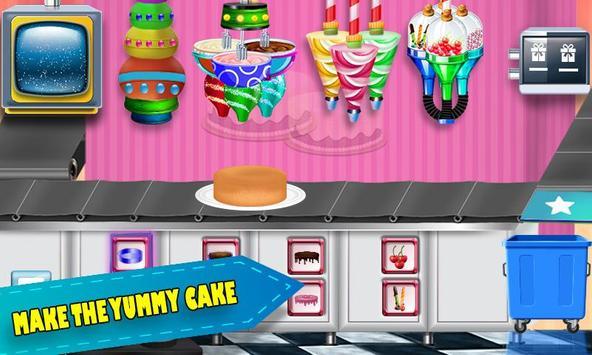 Birthday Chocolate Cake Factory Dessert Food Game For
