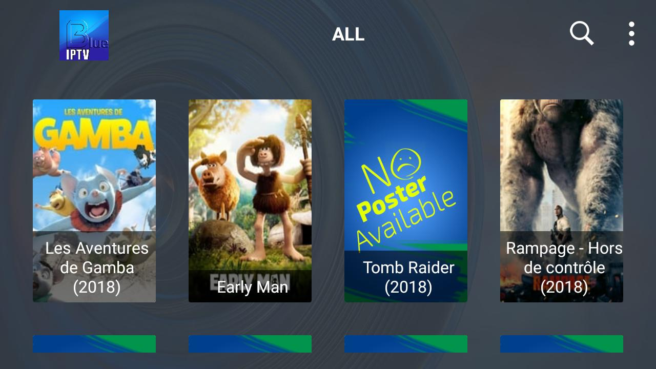 Image Result For Iptv And Vod Blue App