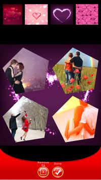 Romantic Photo Collage apk screenshot