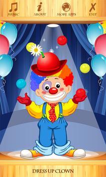 Dress Up Clown screenshot 1