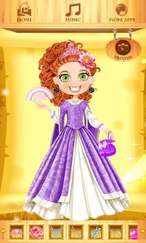 Dress Up Princess Dunja screenshot 2