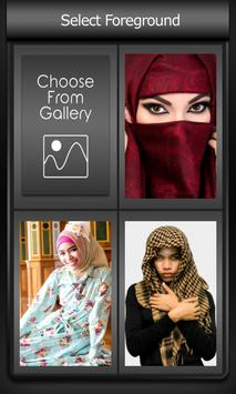 Zipper Lock Screen Hijab screenshot 2