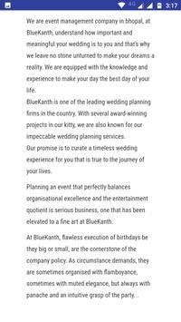 BlueKanth Events & Management apk screenshot
