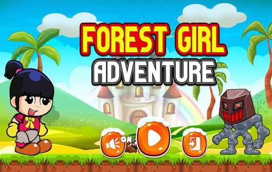 Forest Girl Adventure poster
