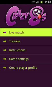 Crazy Eights Multiplayer apk screenshot