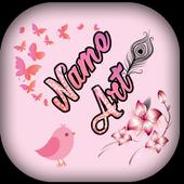 Name Art icon