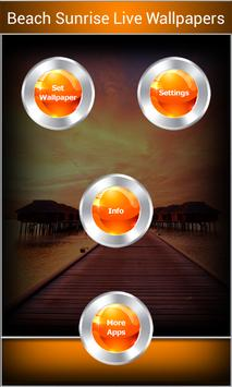 Beach Sunrise Live Wallpapers apk screenshot