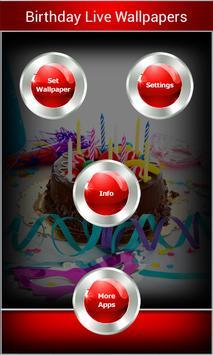 Birthday Live Wallpapers apk screenshot