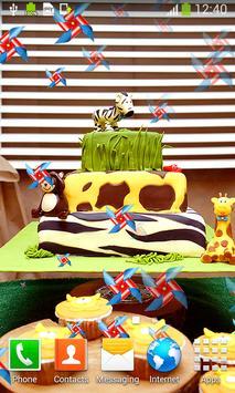 Cake Live Wallpapers apk screenshot