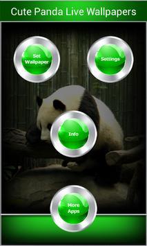 Cute Panda Live Wallpapers apk screenshot
