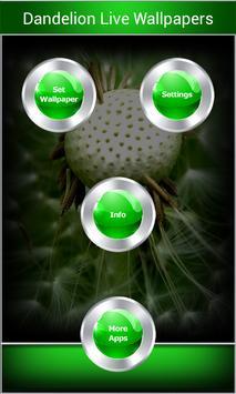 Dandelion Live Wallpapers apk screenshot