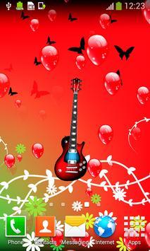 Guitar Live Wallpapers apk screenshot
