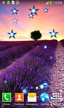 Lavender Live Wallpapers apk screenshot