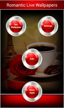 Romantic Live Wallpapers apk screenshot