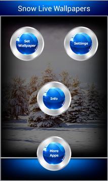 Snow Live Wallpapers apk screenshot