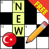 Crossword Turkish Puzzles Game 2018 icon