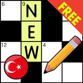 Crossword Turkish Puzzles Game 2018 icon