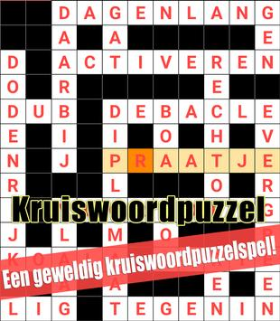 Crossword Dutch Puzzles Game Free poster