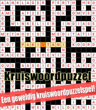 Crossword Dutch Puzzles Game Free screenshot 3
