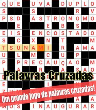 Crossword Brazilian Portuguese Puzzle poster