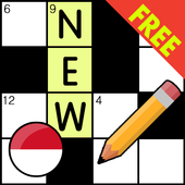 Indonesian Crossword Puzzle Game Free icon