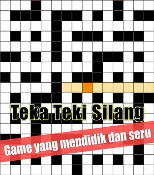 Indonesian Crossword Puzzle Game Free screenshot 1