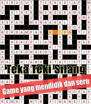 Indonesian Crossword Puzzle Game Free apk screenshot