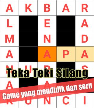 Indonesian Crossword Puzzle Game Free screenshot 4