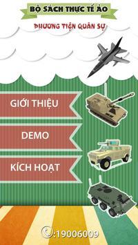 Sách quân sự 3D poster