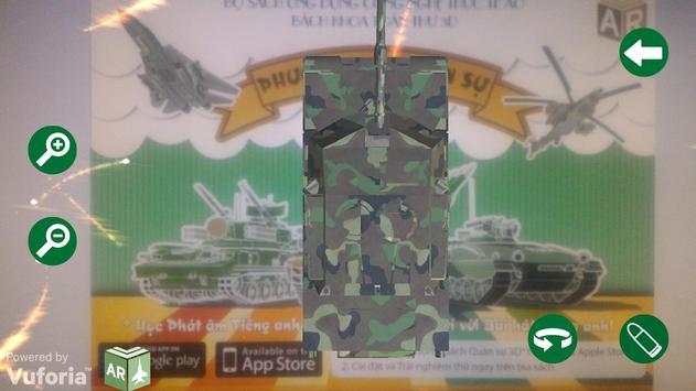 Sách quân sự 3D apk screenshot
