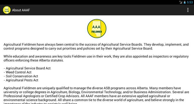 Alberta Agriculture Fieldmen screenshot 10