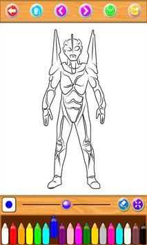 Ultraman Coloring Book Screenshot 6