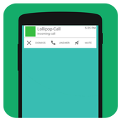Lollipop Style Call Screen icon