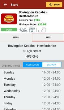 Bovingdon Kebabs apk screenshot