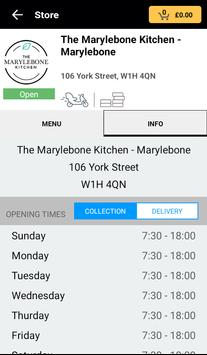 The Marylebone Kitchen apk screenshot